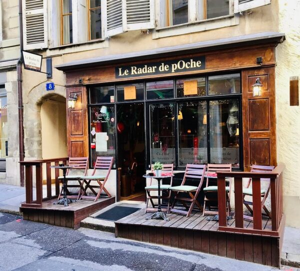 Restaurant Café Le Radar de pOche is Located Near Bourg-du-Four - Top Restaurants in Geneva